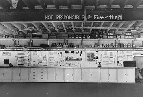 Shure Manufacturing 1950 installation