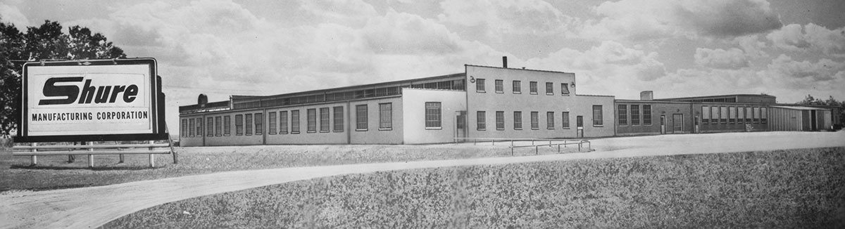 Shure Manufacturing Building from 1952