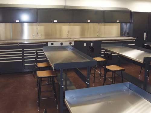 Shure Technical School Installation